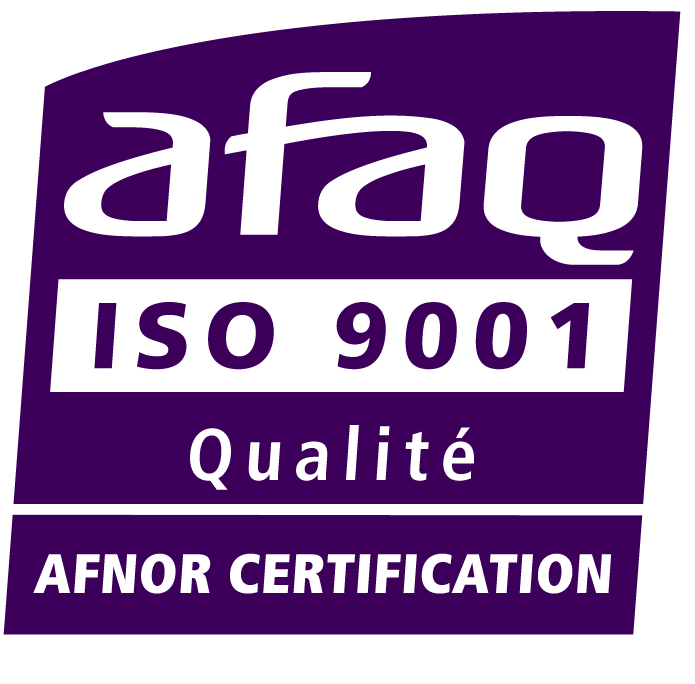 Certification AFAQ ISO 9001